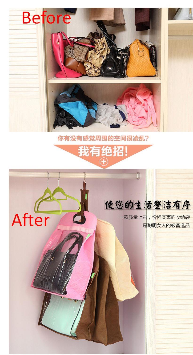 Handbag Dust Proof Covers Wardrobe Storage