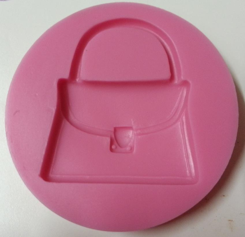 Handbag Silicone Gum Paste Mould, Handbag Fondant Mould - HBSM01