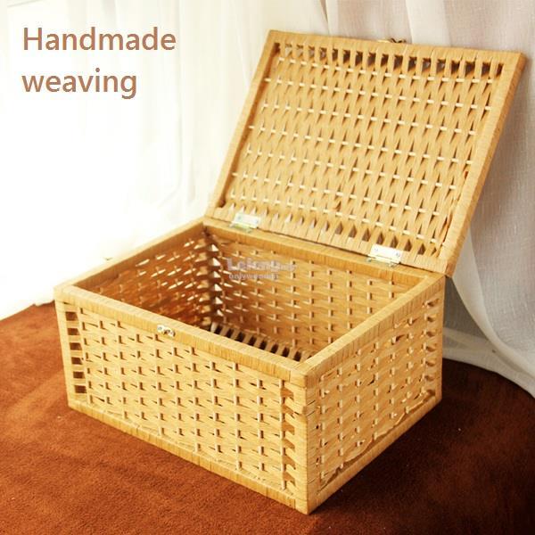 handmade nature paper rattan storage end 7 10 2019 9 02 pm. Black Bedroom Furniture Sets. Home Design Ideas