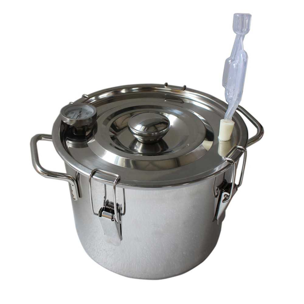 Handmade Silver Stainless Steel Alcohol Water Copper Home Purifying