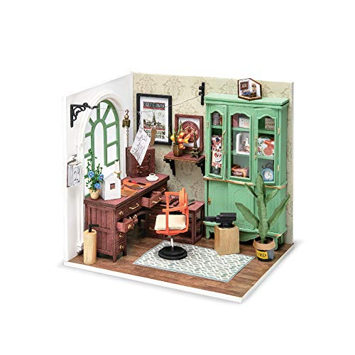 Hands Craft DGM07, DIY 3D Wooden Miniature Dollhouse Build Your own Crafting K