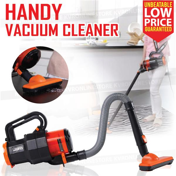 Handy Vacuum Cleaner Powerful Suction Handheld Washable Filter AC220V