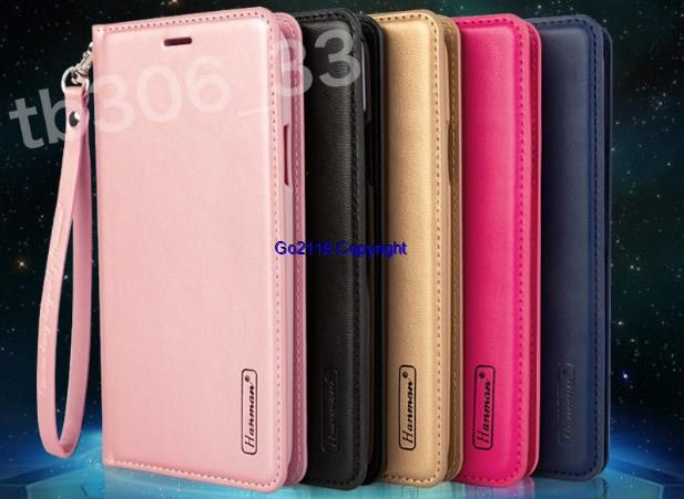 check out 38851 ebd83 Hanman Samsung Galaxy A6 A6+ Plus 2018 Leather Case Cover Wallet