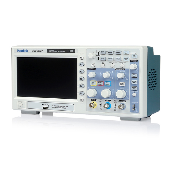 Hantek DSO5072P Digital Storage Oscilloscope 70MHz 2Channels 1GSa/s 7i..