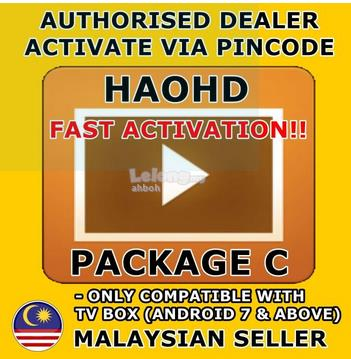USED HAOHD C 1 Year  Hao TV , apk only