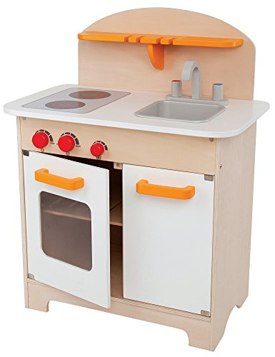 Hape Gourmet Kitchen Kid's Wooden Play Kitchen in White..from USA