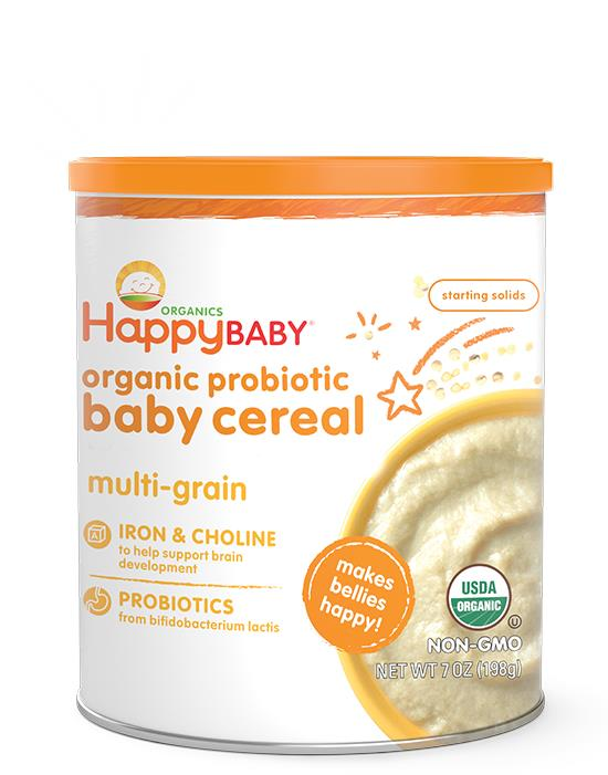 Happy baby Happy Bellies Multigrain Cereal 198gm