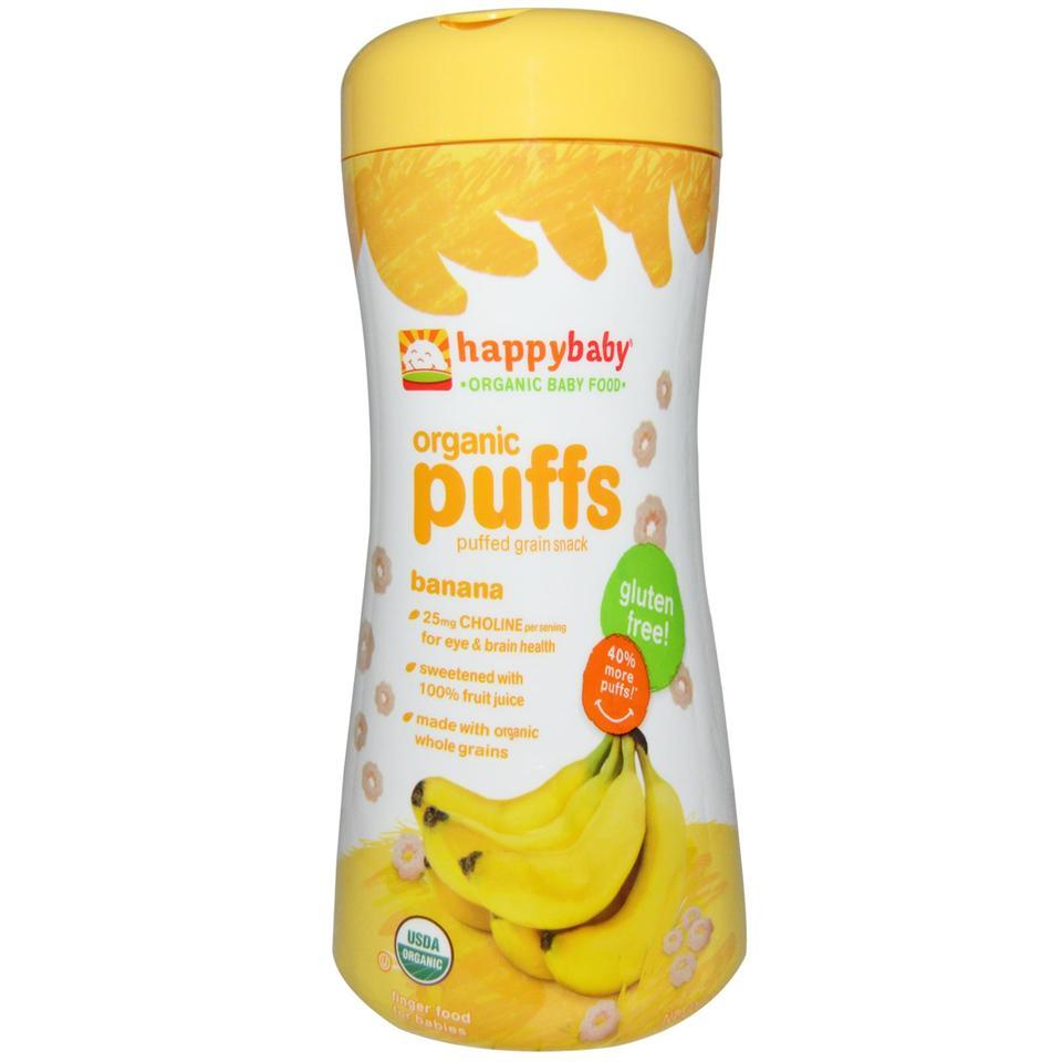 Happy Baby Food Organic Puff