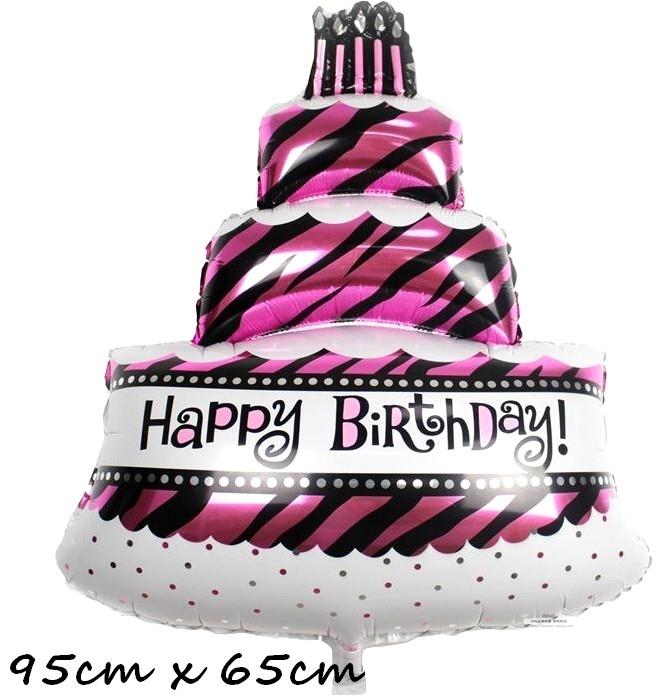 Happy Birthday 3 Layer Cake Foil Bal End 9 16 2019 432 PM
