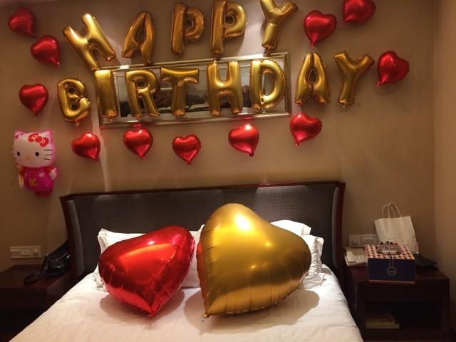 Happy Birthday Aluminum Foil Balloon
