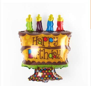 Happy Birthday Cake Cup Cake Foil End   AM - Happy birthday 18 cake