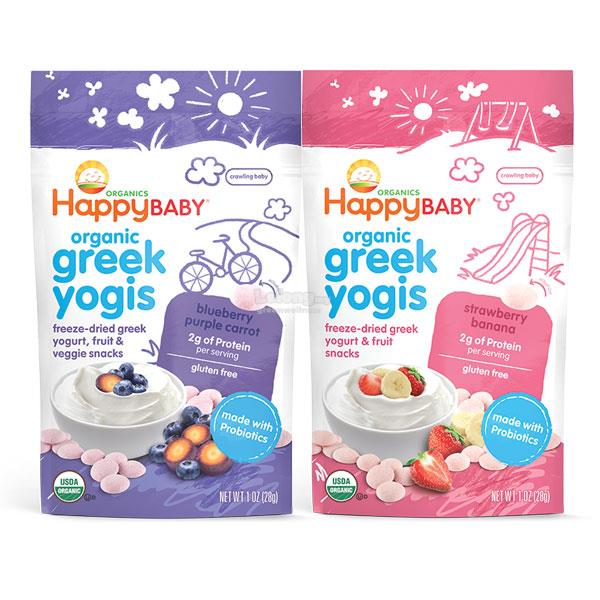 Happy Yogis Greek Yogurt Twin Pack