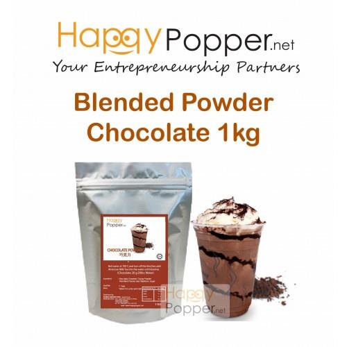happypopper- Ice Blended Powder Chocolate 1kg