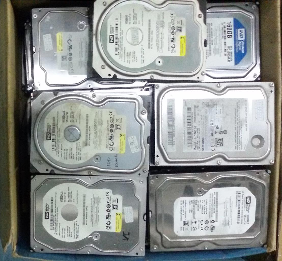 Hard Disk 3.5' 80GB Sata for PC_ Seagate, WD, Maxtor & Samsung HDD