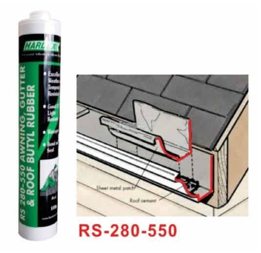 HARDEX RS-280-550 AWNING GUM  (PCS)