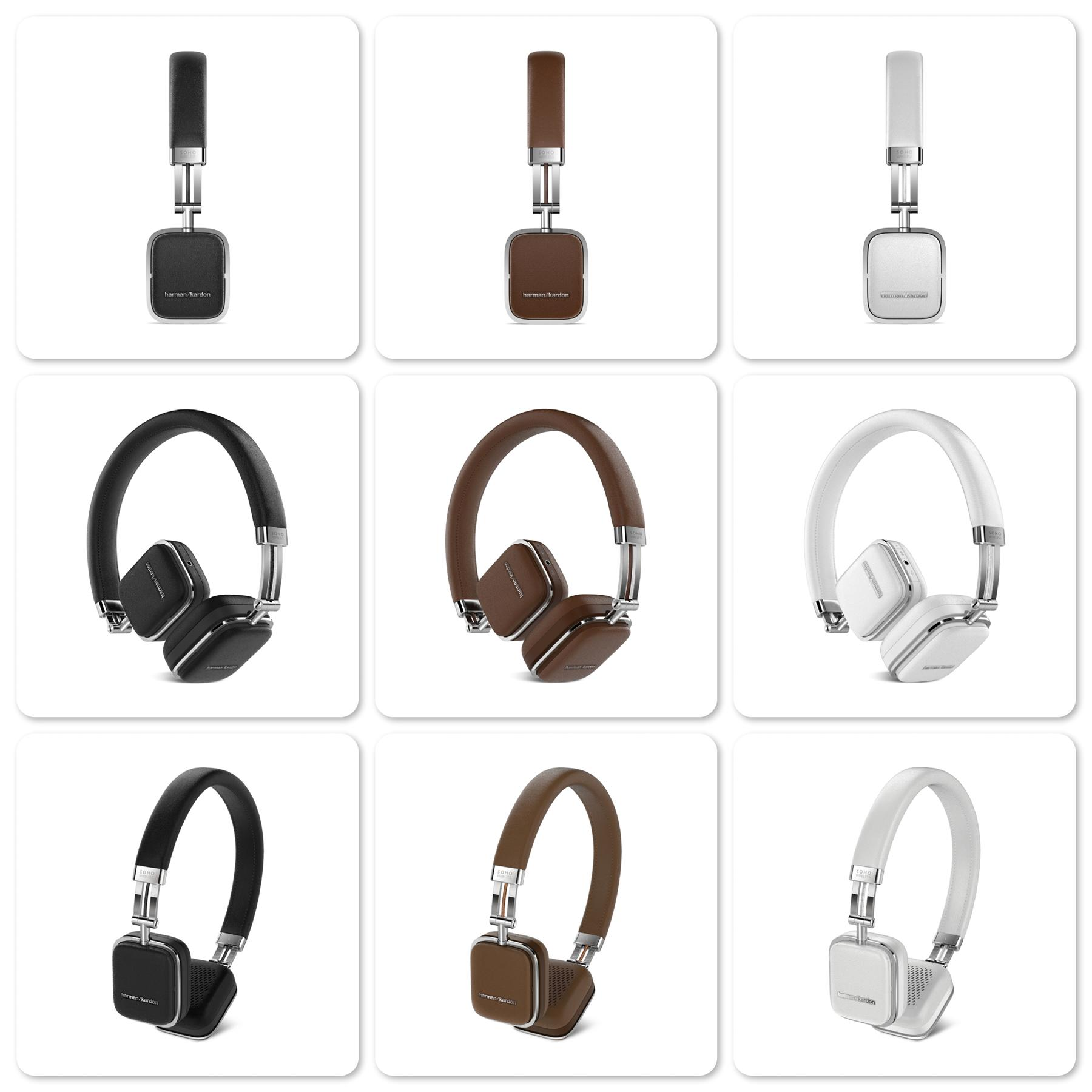Harman Kardon Soho Wireless Premium On Ear Headphone = Original
