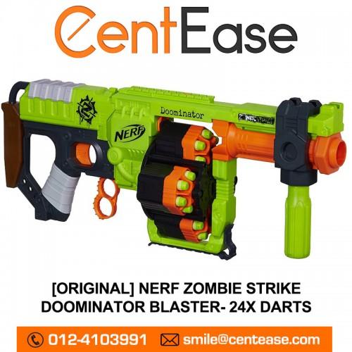 ... UPC 630509297818 product image for Kids Nerf Zombie Strike Doominator  Blaster Gun 24 Darts Dart Refill