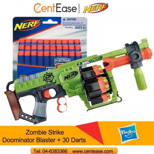 Hasbro Nerf Zombie Strike Doominator Blaster + Nerf 30 Darts