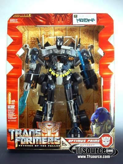 Hasbro Transformers Black Optimus Prime
