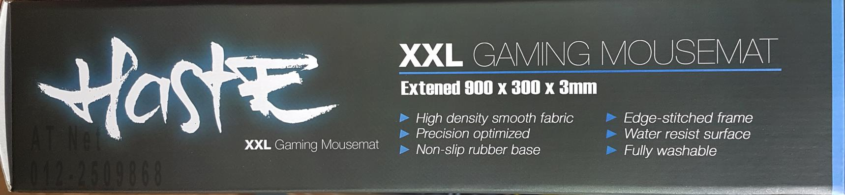 HASTE XXL GAMING MOUSEMAT 900 X 300 X 3MM