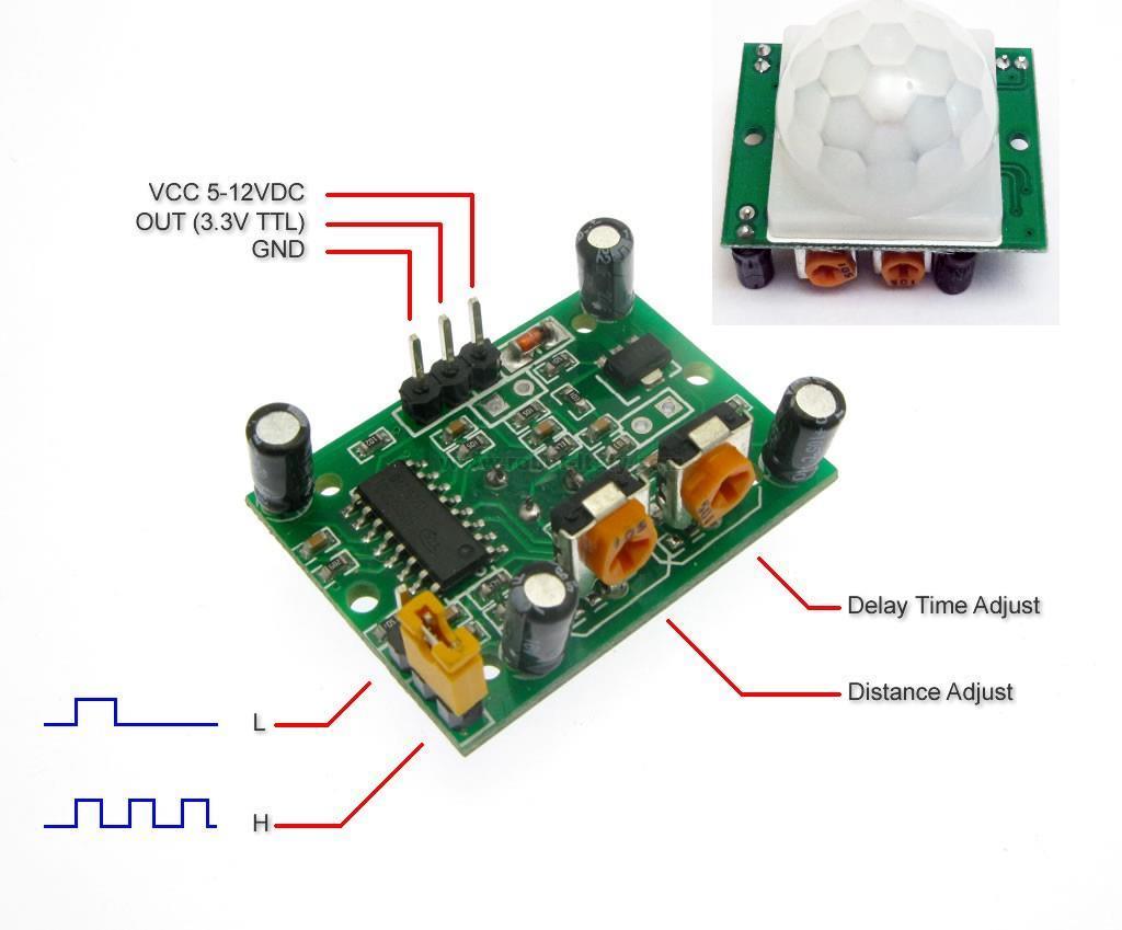 HC-SR501 PIR sensor