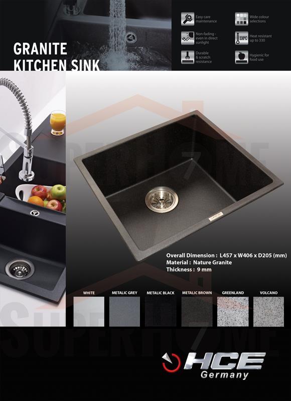 Hce Granite Kitchen Sink 4641