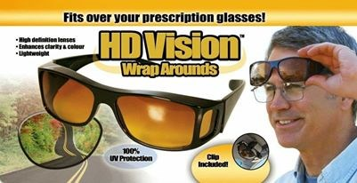 HD Vision Glasses (Double set)