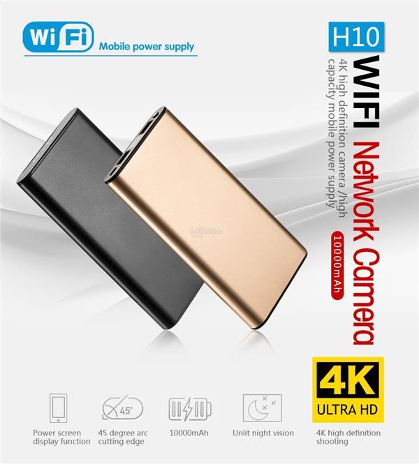 HD WiFi Hidden Spy Camera Mini Home Security Cam Motion Detection