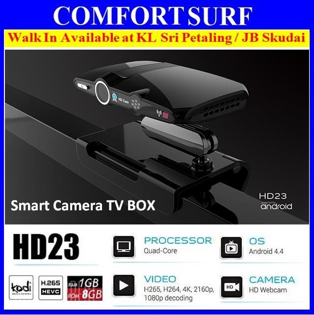 HD23 Camera Android TV BOX Allwinner H3 Quad Core 1G/8G WIFI 1080P