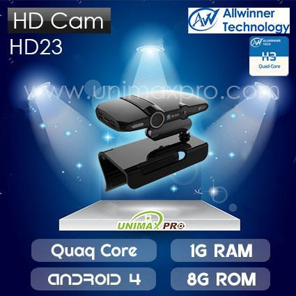 HD23 TV BOX SKYPE H3 All Winner Quad Core 1GB Ram 8GB Rom Android 4