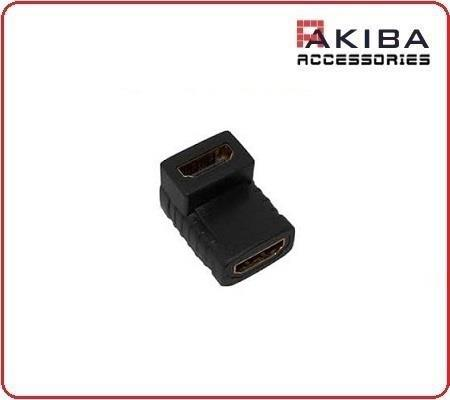 HDMI 90 Degree Right Angle L Shape HDMI Female F/F Connector