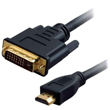 HDMI (M) TO DVI 24+1 (M) CABLE 3M (1851)
