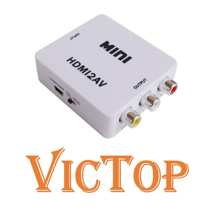 HDMI to AV RCA Audio Video CVBS Adapter HD 1080P Converter