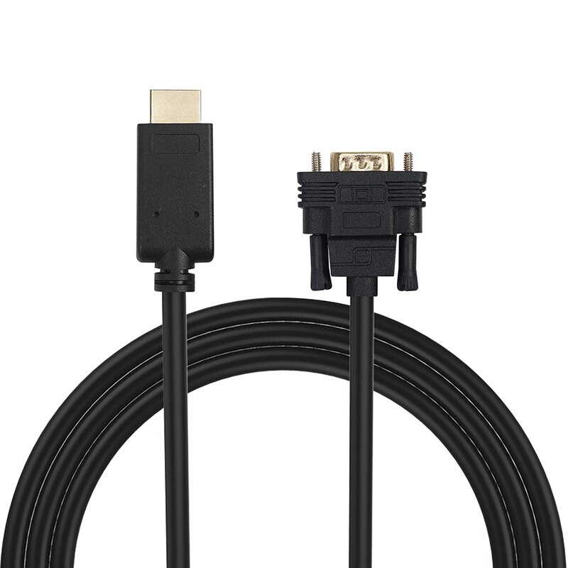 HDMI To VGA Adapter Cable HDMI Male To VGA Male 1080p Video Converter
