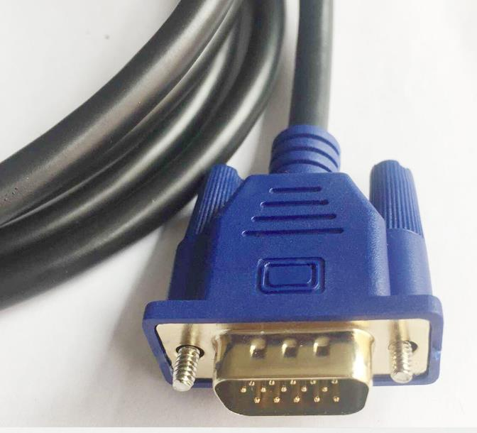 HDMI TO VGA WITH CHIPSET FULL HD 1080P  3METER CABLE (S458)