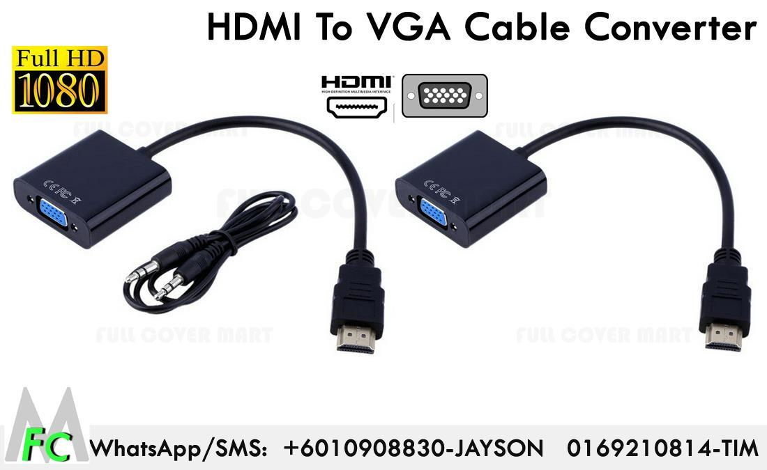 Hdmi To Vga Converter Adapter Cable End 10 14 2019 5 15 Pm