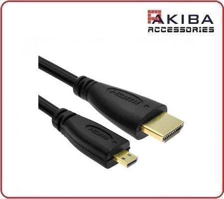 HDMI V1.4 Male to Micro HDMI Cable Support 3D 1m