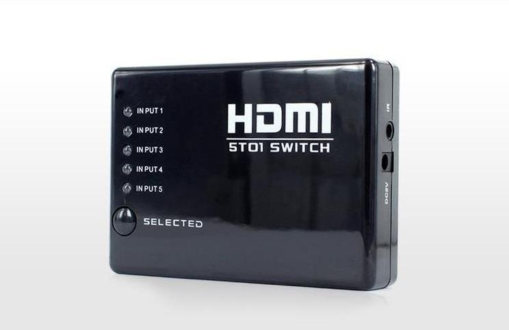 HDMI5SW 5 - way HDMI Switcher