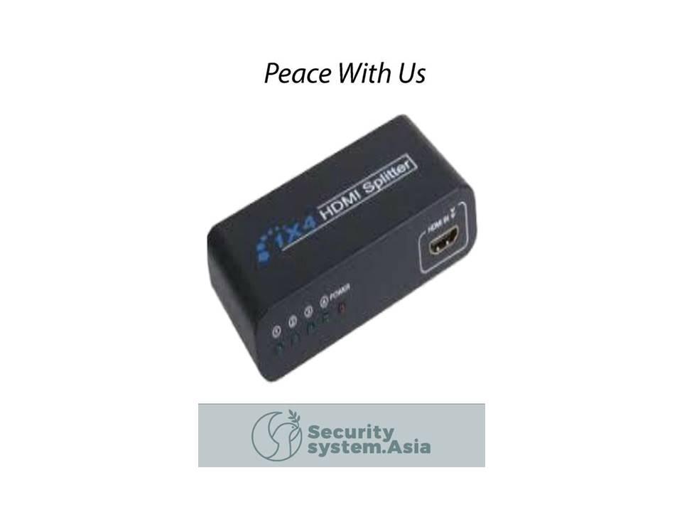 HDMIS4 4-PORT HDMI SPLITTER