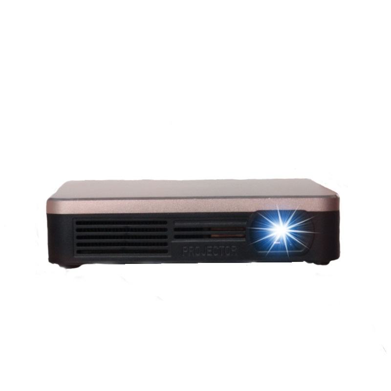 HDP200 Gold Wifi Android Pico Mini Full HD DLP Projector Home Cinema T..