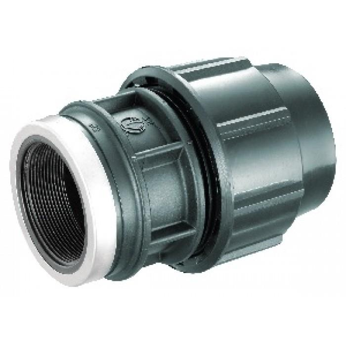 Hdpe fittings female threaded adapto end am