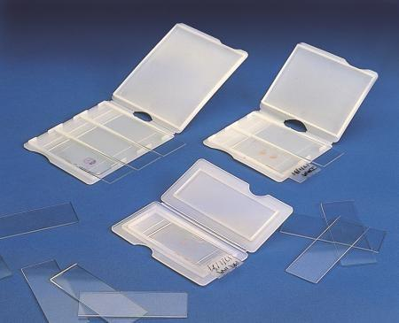 HDPE slide mailer for 26x76 mm slide, 3-placement