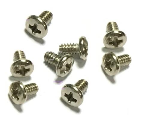 Round Head Mounting Screw 6-32 for 3.5in Hard Disk Drive (8pcs)