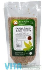 Health Paradise Organic Golden Flaxseed; 250g
