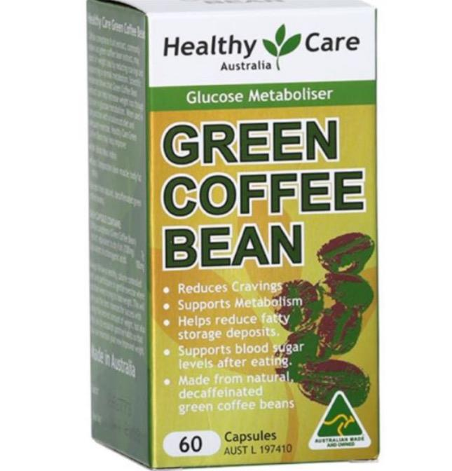 Healthy Care Green Coffee Bean (60 capsules)
