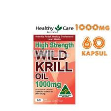 Healthy Care High Strength Wild Krill Oil 1000mg