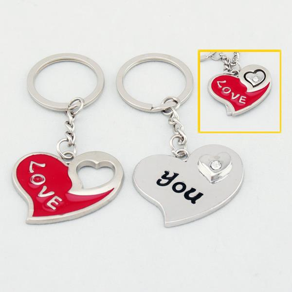 Your Heart Completes Me Lover Couple Key Chain Keychain K80