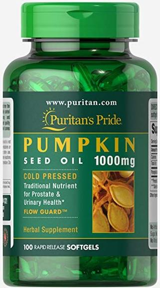 Heart Health, Prostate Solution - Pumpkin Seed Oil 1000mg (USA)