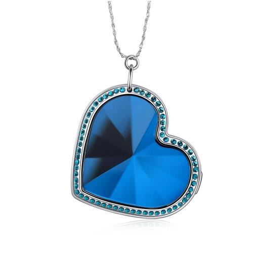 Heart Shape Necklace GPS Tracker / Locator (WGPS-20).