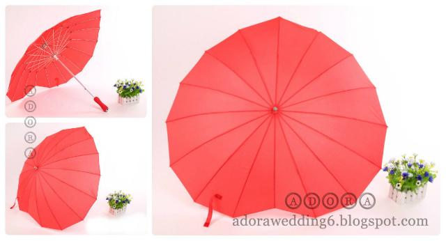 Heart-shaped Umbrella (Wedding/Photography/Props)
